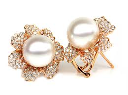 Pearl stone Moti earrings