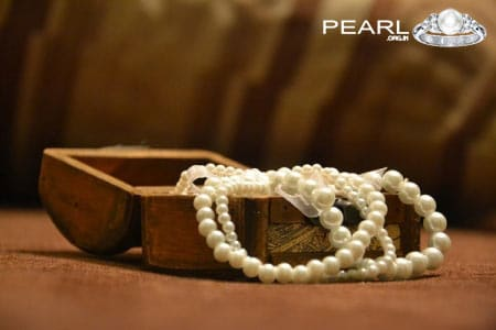 Pearl Gemstone Rings, Necklace Best Gift For Wedding Anniversary.