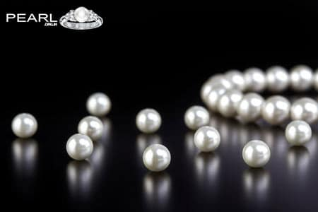 Pearl Gemstone The Birthstone Of Month-June.