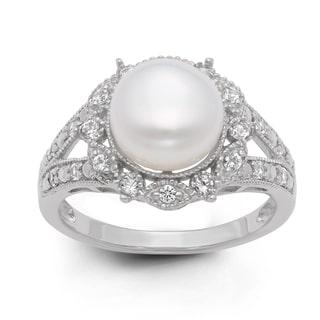 Pearl Gemstone Ring