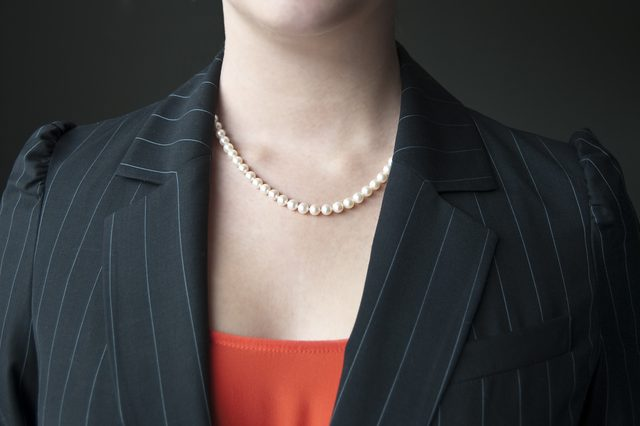 pearl jewelry for office